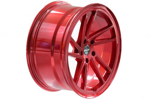 Seitronic® RP9 Alufelge | Curved Lip Design | Candy Red